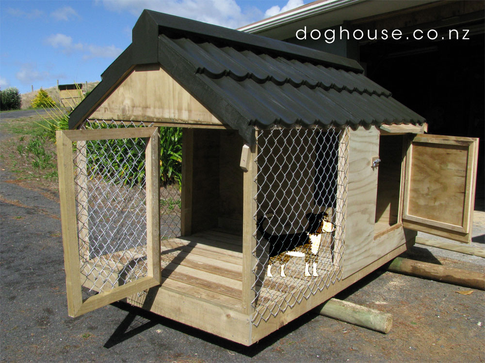 Outdoor Dog & Puppy Houses, Kennels And Runs