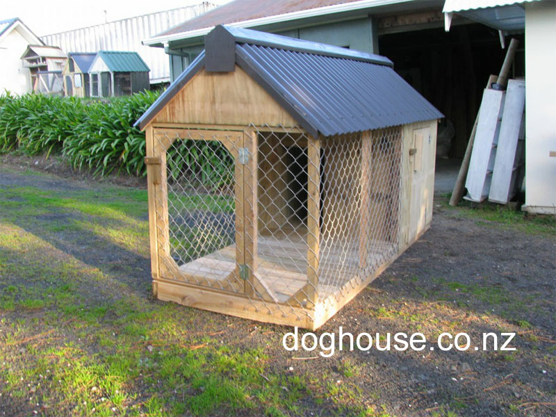 how to build outdoor dog run