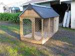 Custom Outdoor Dog Kennels